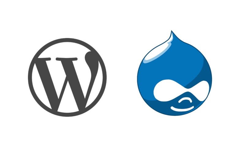Wordpress/Drupal logos