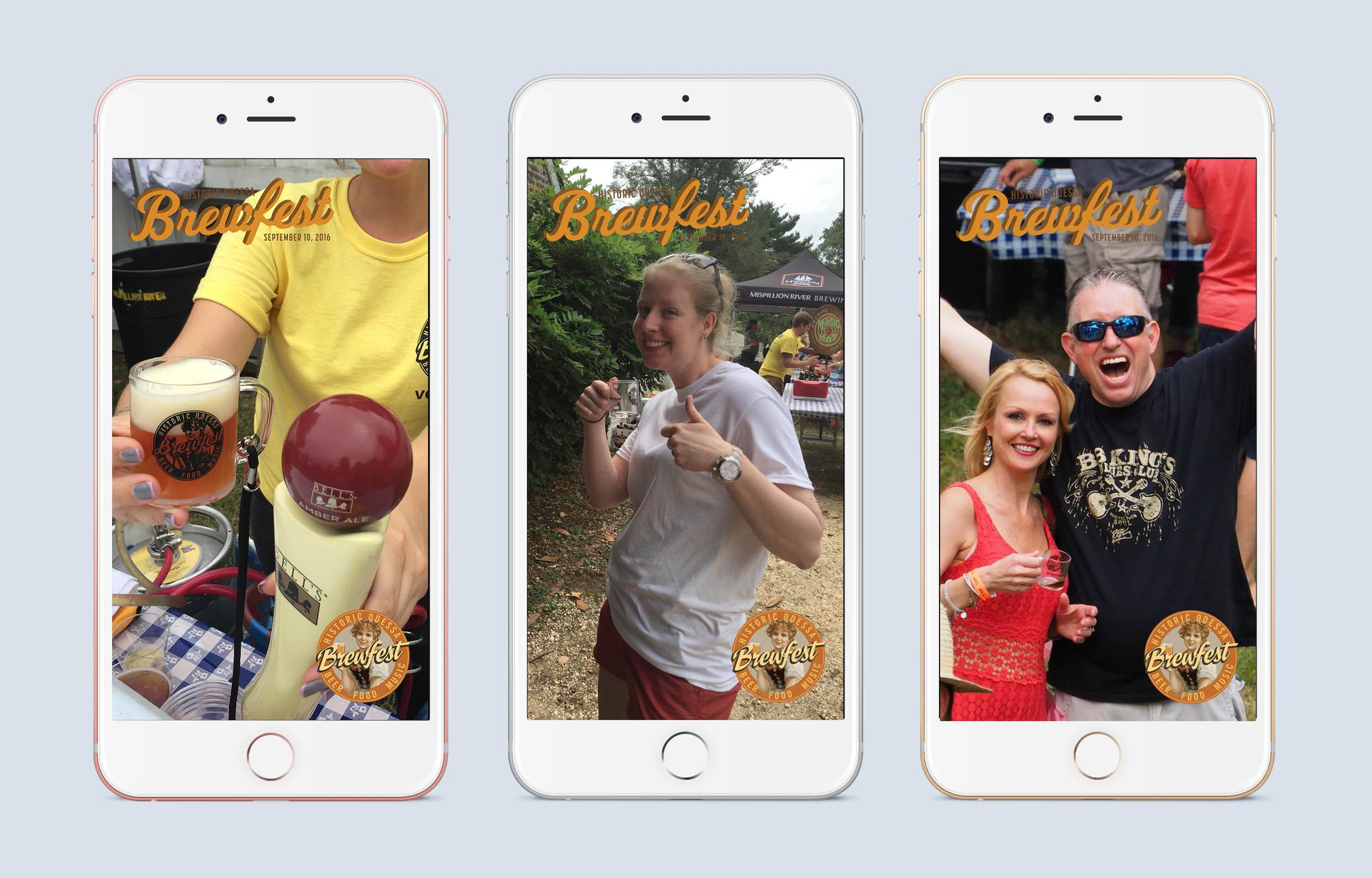 Odessa Brewfest Snapchat Geofilters