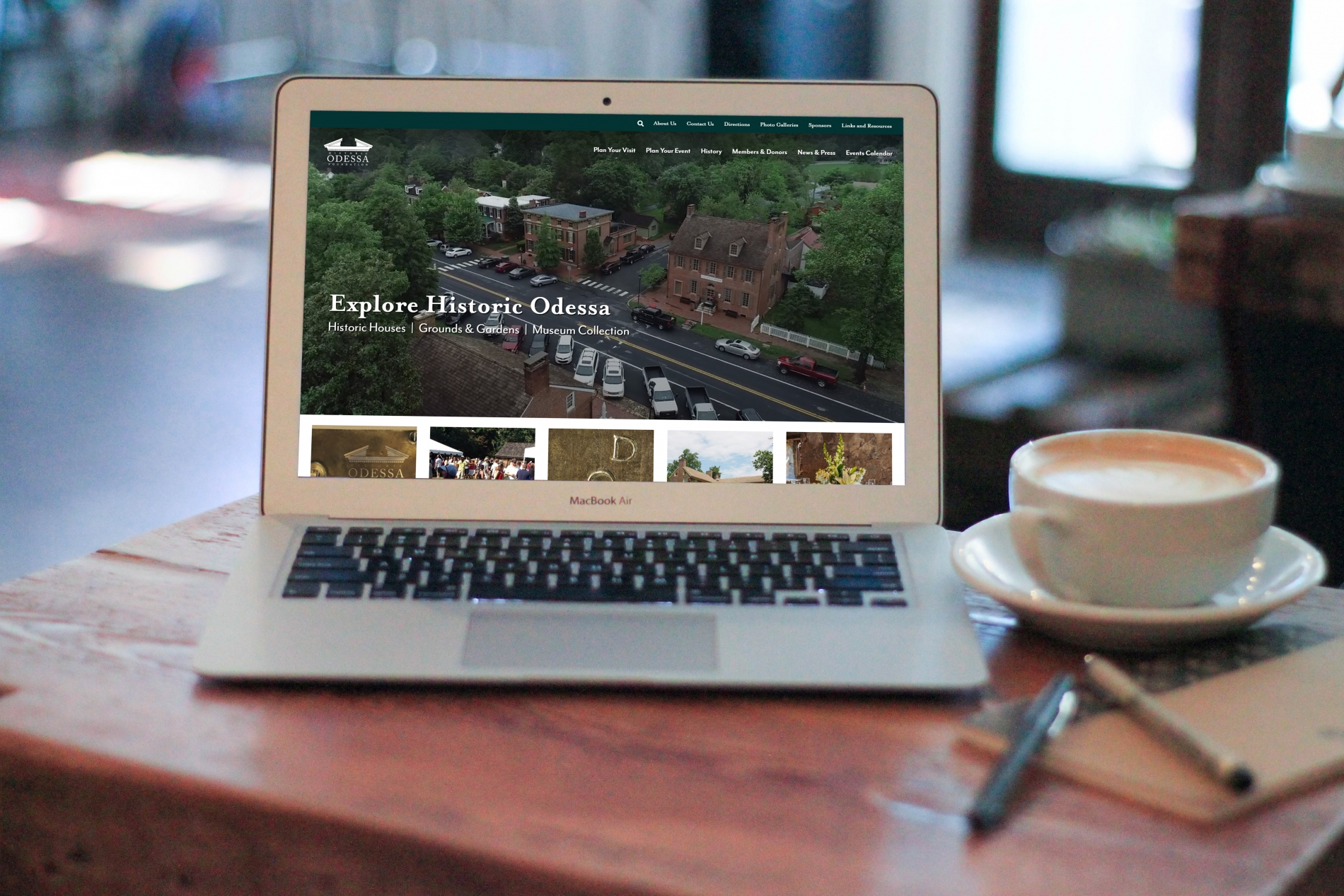 HOF Responsive Website Design