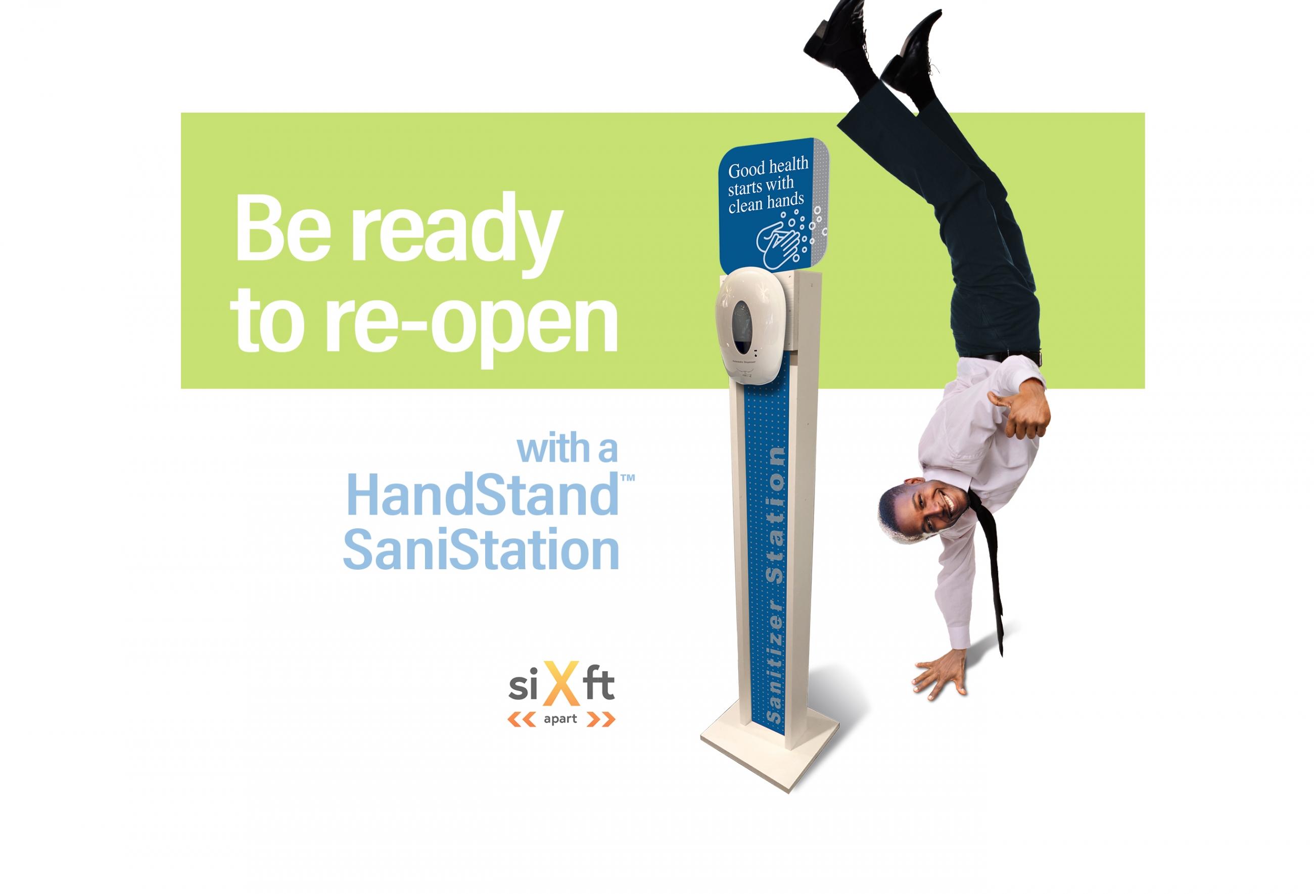 HandStand SaniStation model