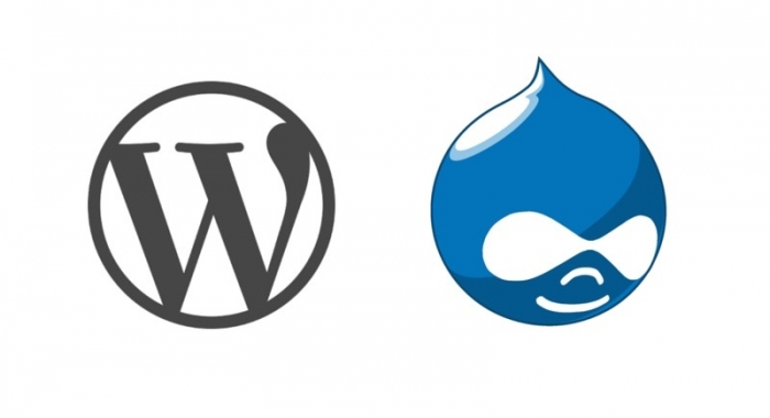 Wordpress/Drupal logos