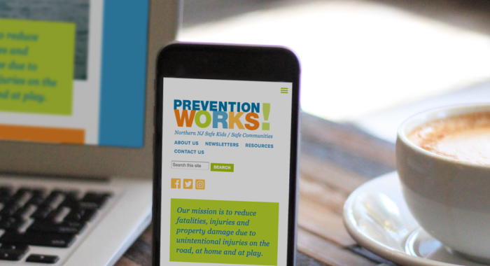Web Design Case Study: Prevention Works!