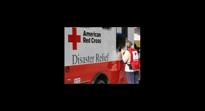 American Red Cross Disaster Relief Truck