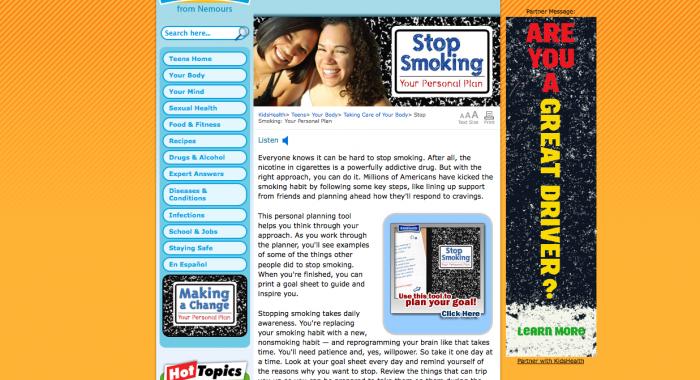 Stop Smoking Module