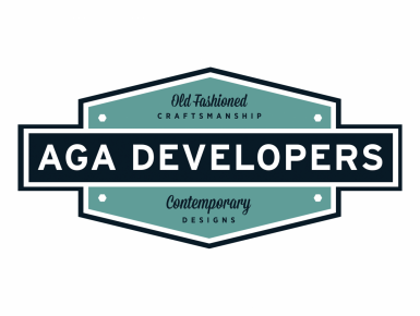 AGA Developers Logo and Branding designed by 4x3, LLC