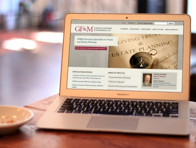 Gordon, Fournaris & Mammarella Law Firm Website
