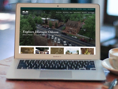 Historic Odessa Responsive Design for Mobile, Tablet and Desktop