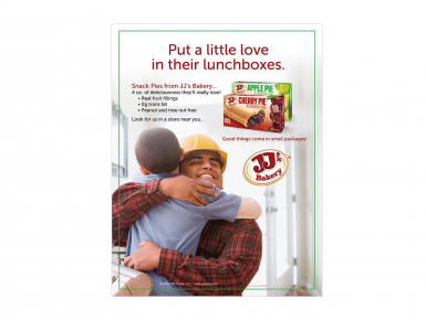 JJ's Bakery Print Ad