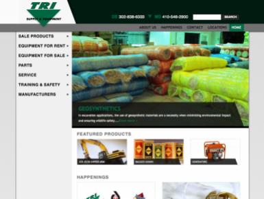 Tri Supply Website
