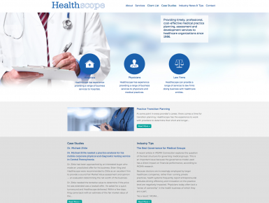 Healthscope Website
