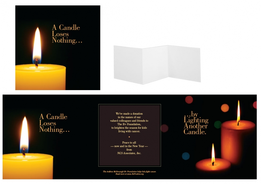Custom Print Design, Candle Theme