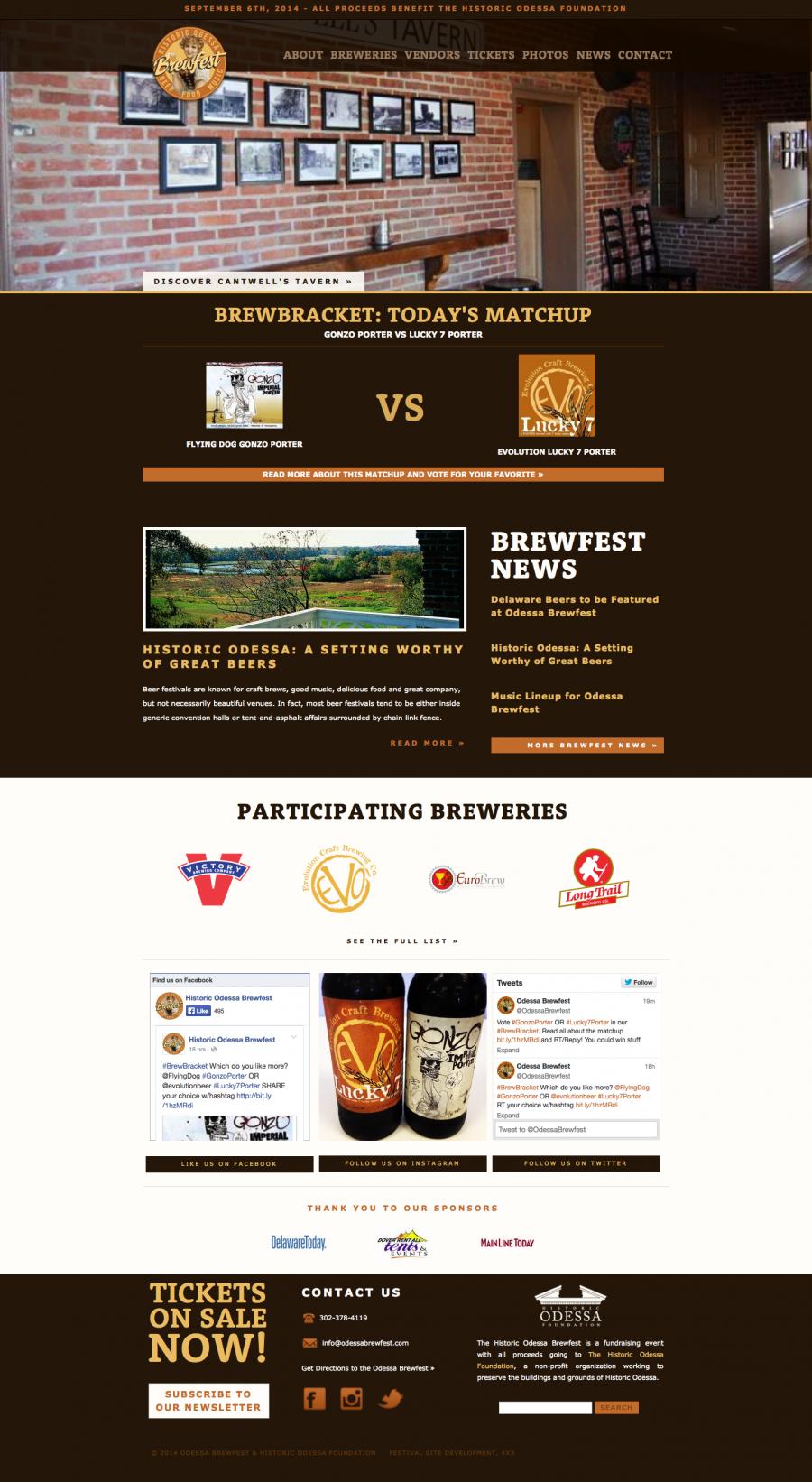 Odessa Brewfest Brewbracket Winner