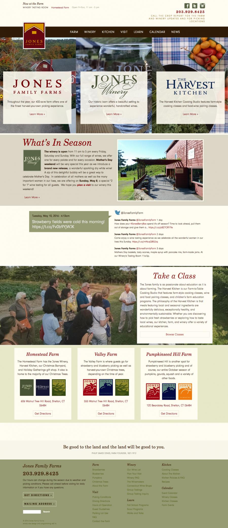 Jones Home Page