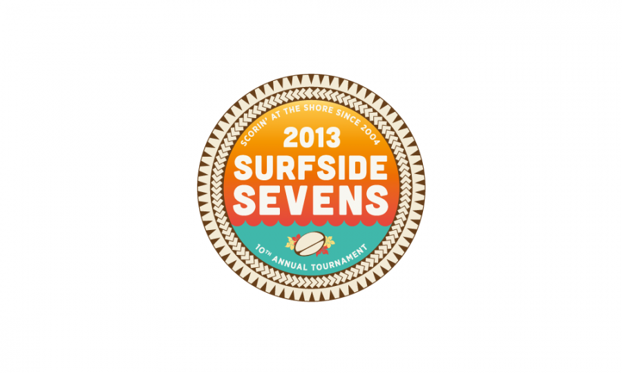 Surfside Sevens Branding begins with the logo