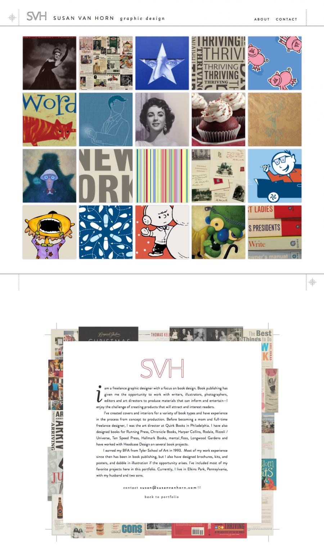 Susan Van Horn Homepage