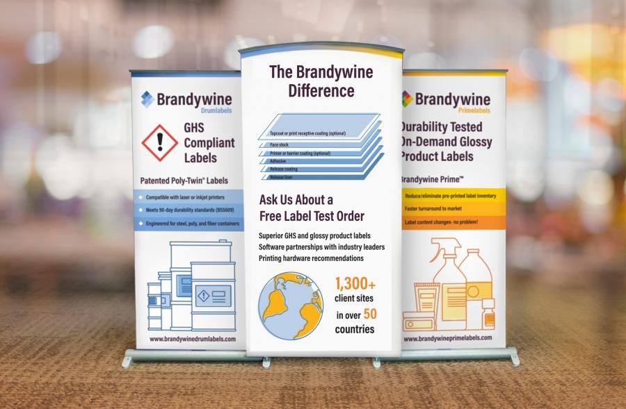 Brandywine Trade Show Back Wall