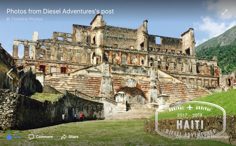 Diesel Adventures marketing in Haiti