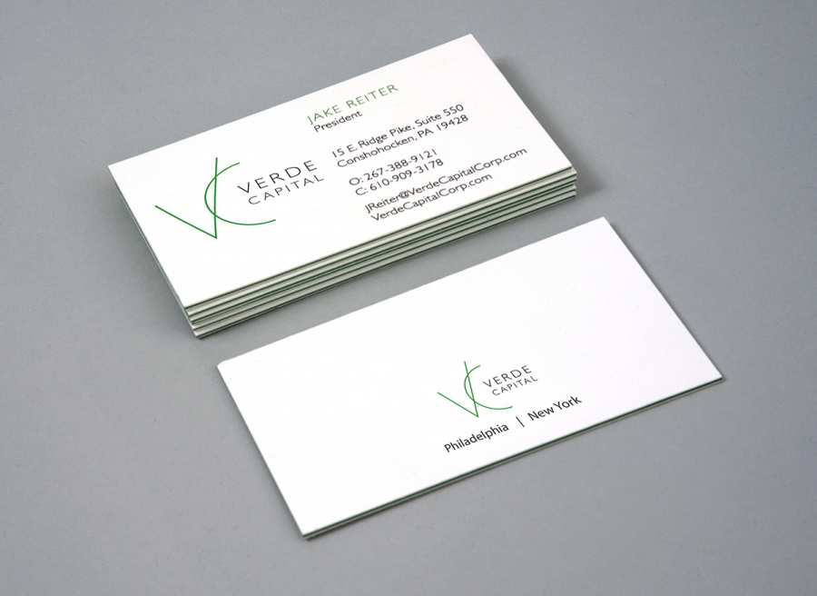 Verde Capital Business Cards