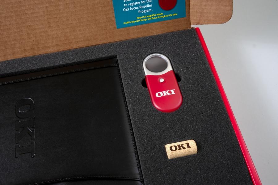 cork for Promotion for OKI'sFocus Reseller Program