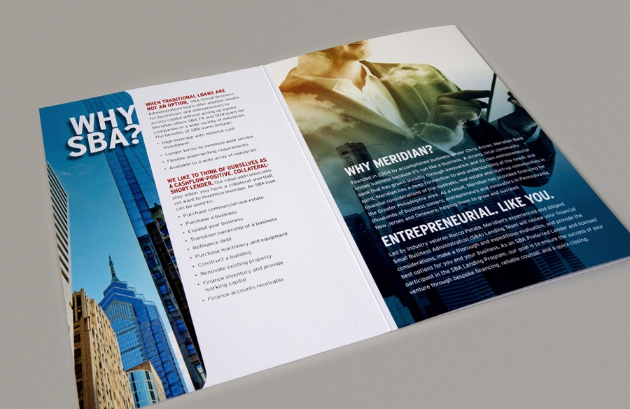 Meridian SBA Brochure, gatefold
