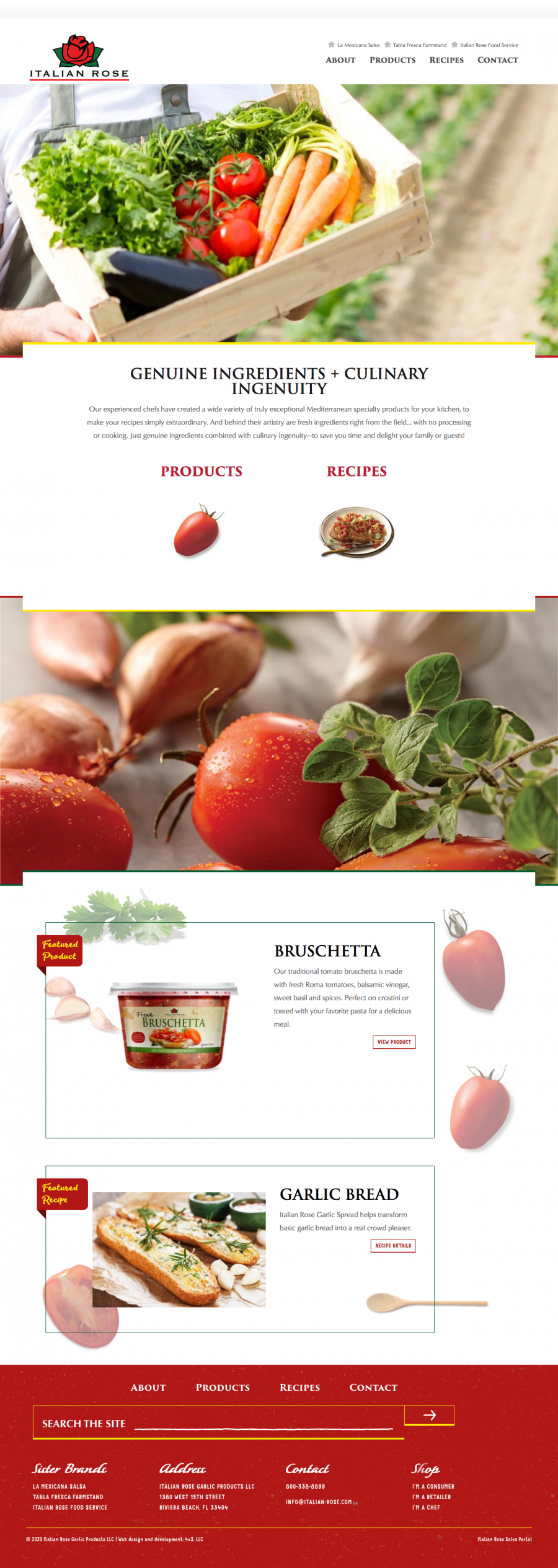 Italian Rose homepage