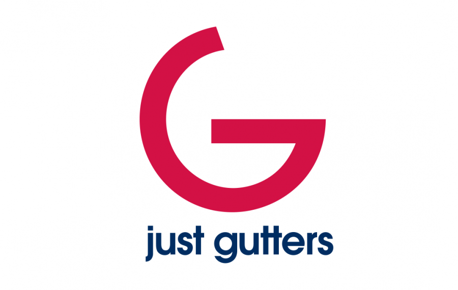 Just Gutters Custom Logo