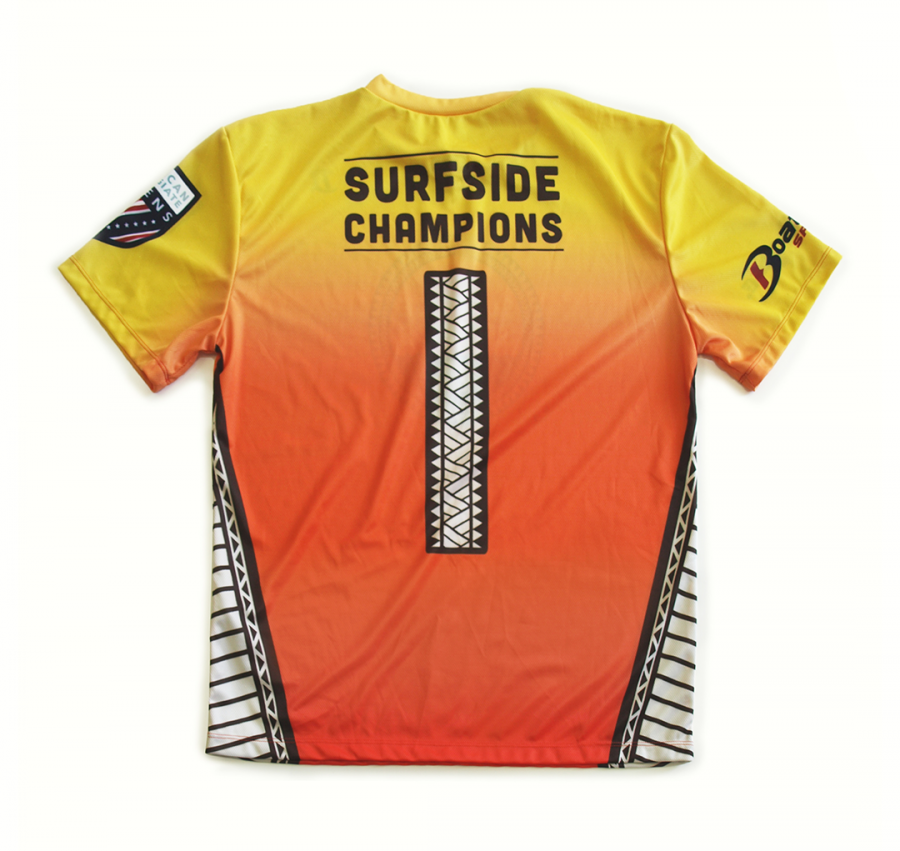 Surfside Sevens custom print design for t-shirts