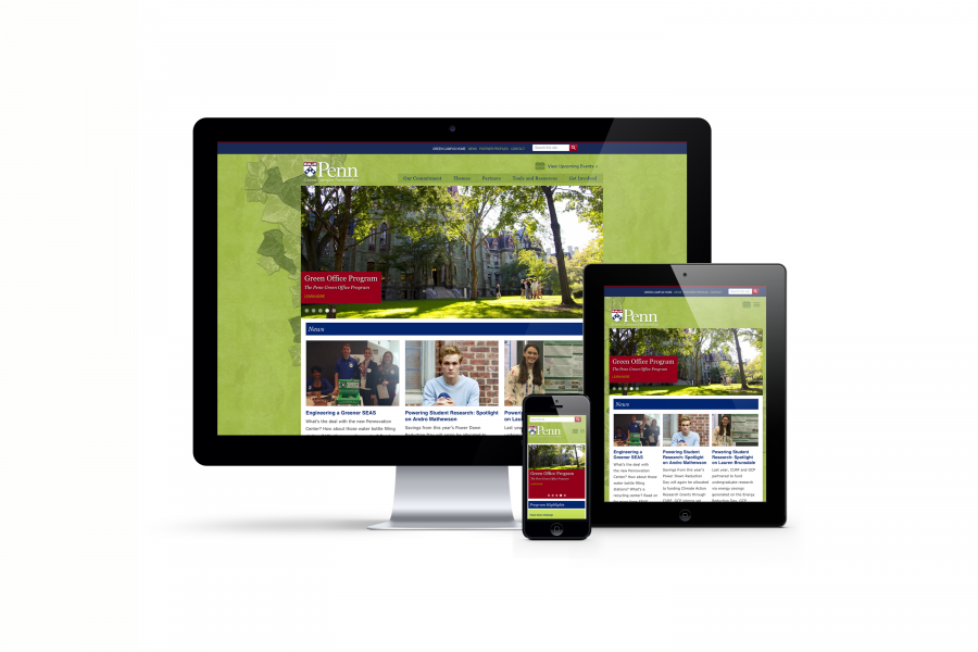 fully responsive website on Desktop, iPad, iPhone