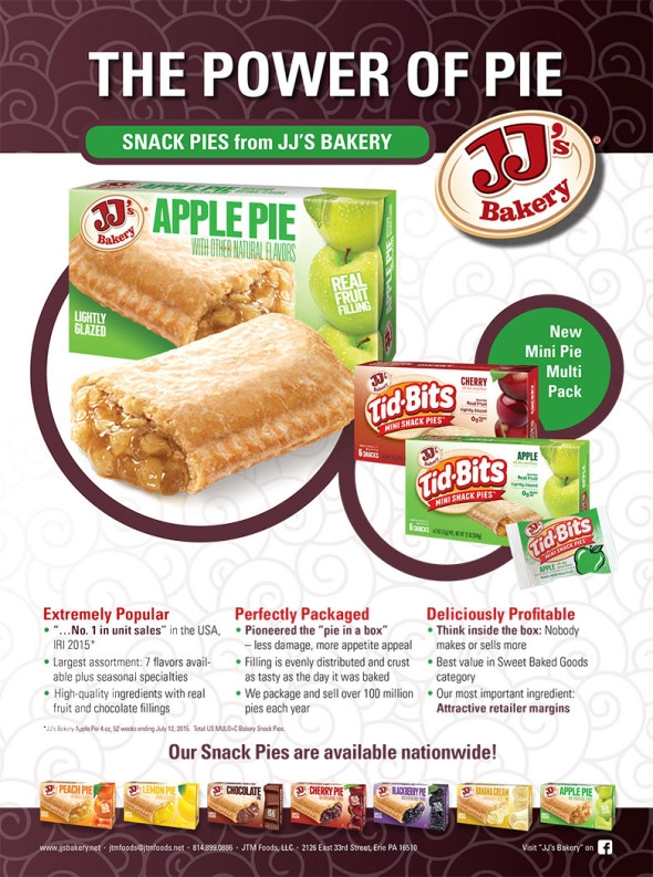 JJ's Bakery: apple and cherry snack pies