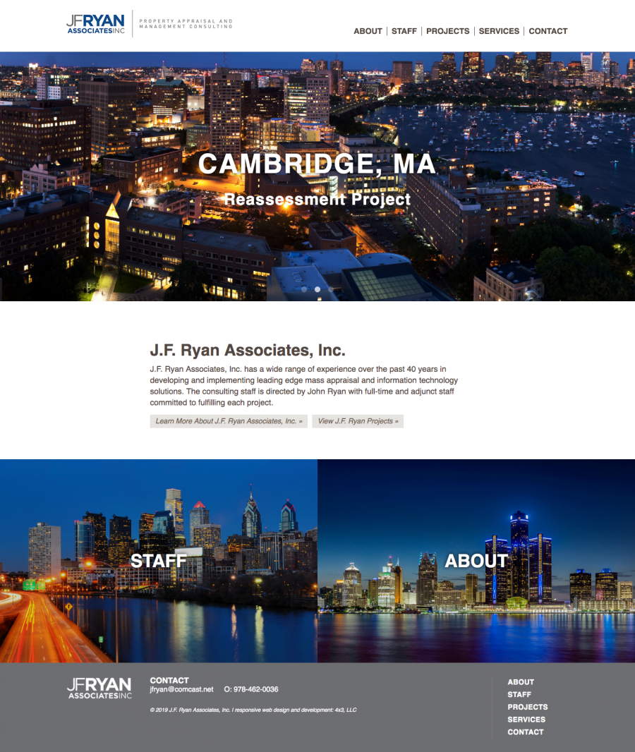 JF Ryan Homepage