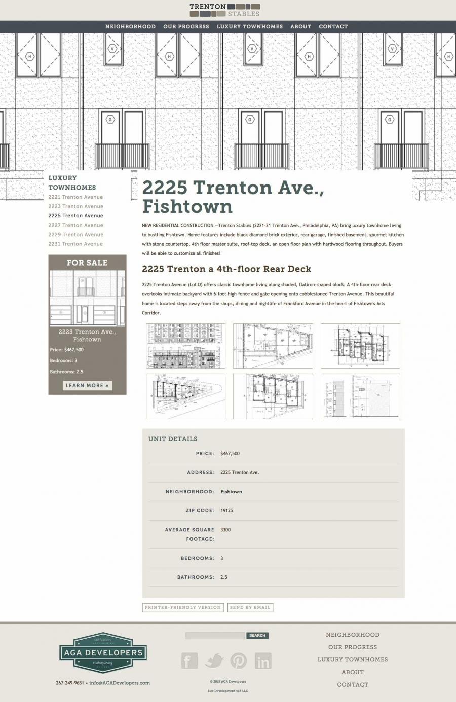 Trenton Stables Descriptive Internal Pages