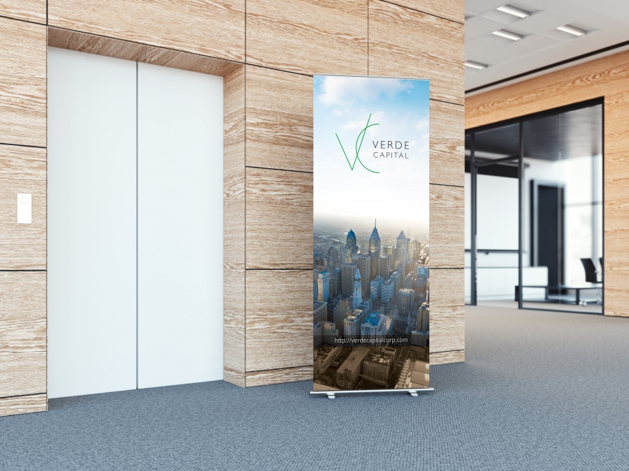 Verde Capital Loby Banner