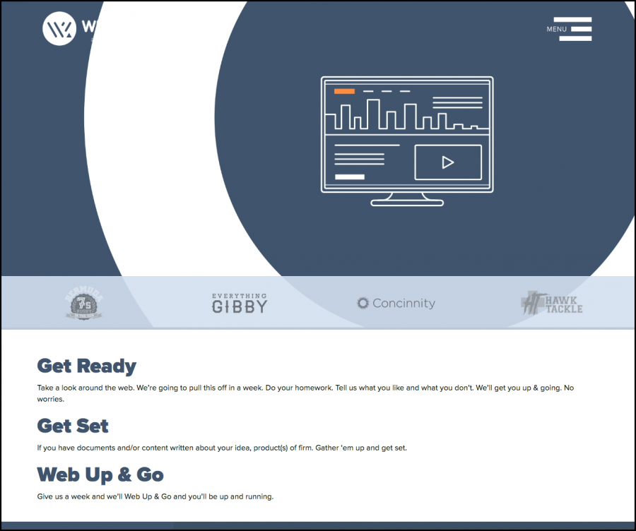 Web Up&Go Screen 2