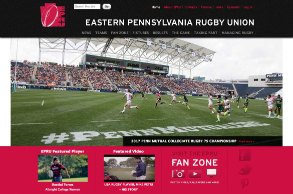 Eastern Pennsylvanian Rugby Union Home Page