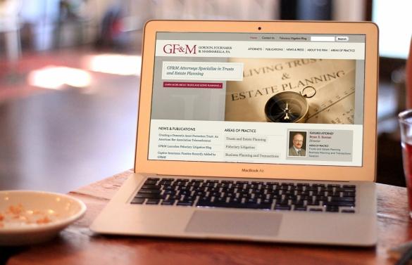 Gordon, Fournaris & Mammarella Law Firm Website