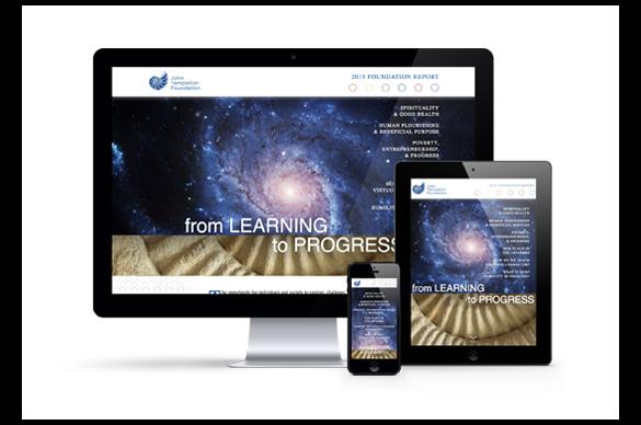 Templeton Foundation Annual Report