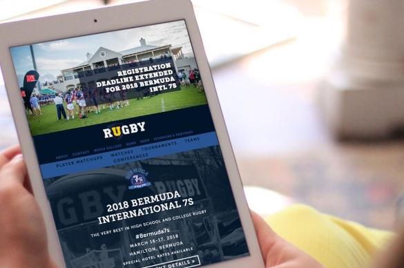 URugby Responsive Design, Tablet/iPad