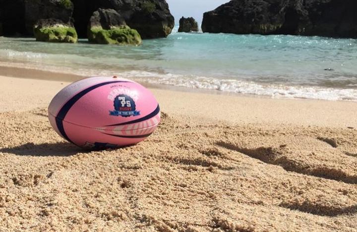 Bermuda International 7s Rugby Tournament Branding