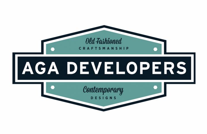 AGA Developers Logo and Branding designed by 4x3, LLC