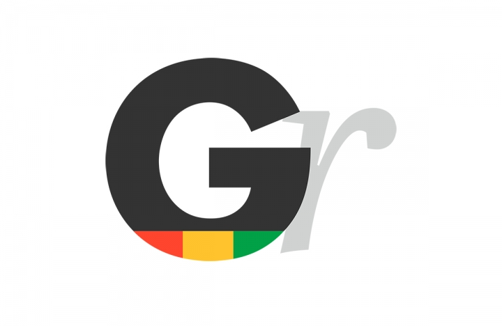 The Ghanaian Reporter Logo and Identity, GR Favicon Logo