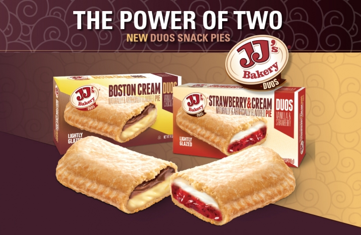 JJ's Bakery: Duos Pies trade ads