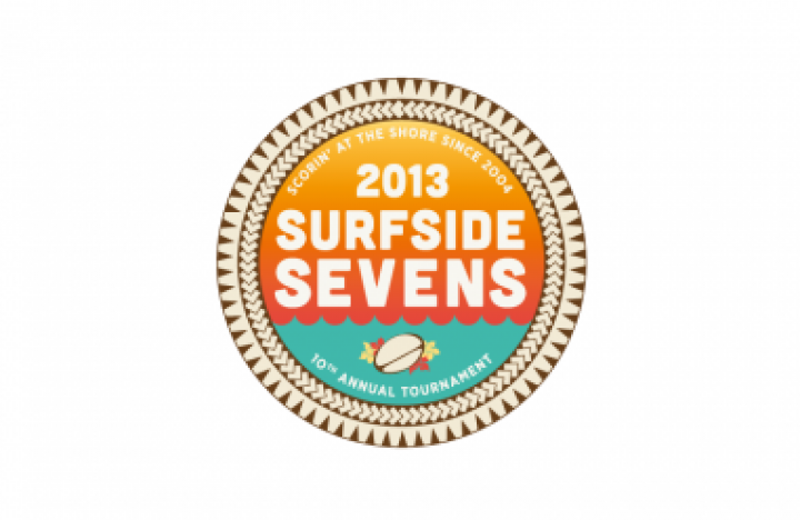 Surfside Sevens Branding designed by 4x3, LLC