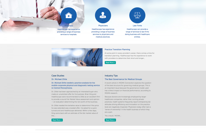 Healthscope Website